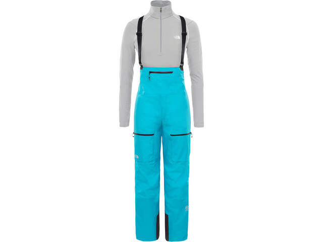 The North Face Summit L5 GTX Pro Full Zip Bib Women bluebird